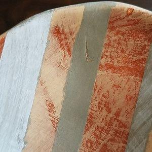 Studio B Accents - Studio B Striped Ceramic Tray